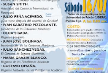 Primeras Jornadas Regionales de Derecho Marítimo