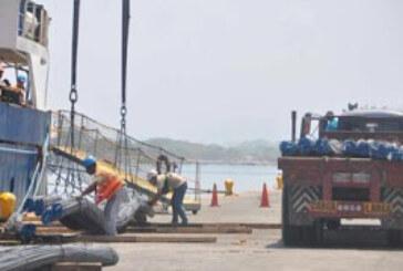 Sidor despacho 800 toneladas de cabillas vía fluvial