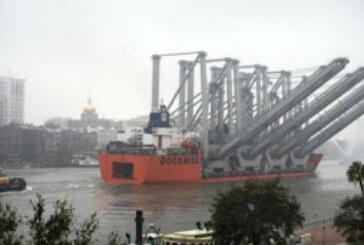 Puerto de Savannah incorpora cuatro grúas Ship to Shore