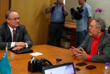 Venezuela y Aruba revisaron acuerdos energéticos de cooperación