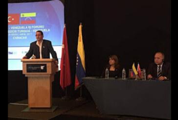 Turquía y Venezuela avanzan en sus relaciones comerciales
