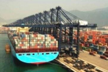 Crece levemente demanda de transporte marítimo contenerizado en la ruta Shanghái-Europa