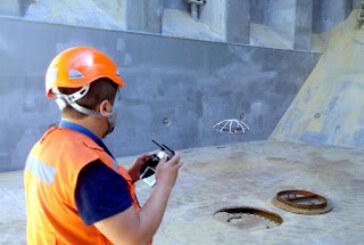 Realizan primera inspección de bodega mediante el uso de drones en Chile